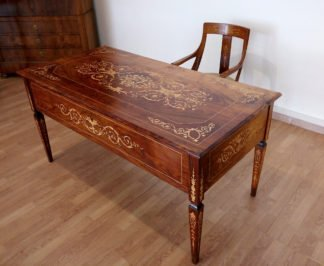 Итальянский стол и стул Людовика XV, 1920 г.
