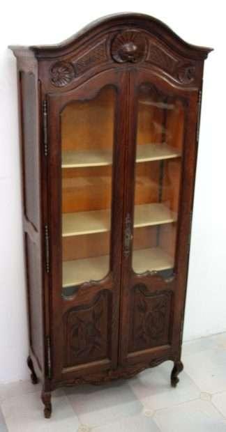 Провансальский шкаф-витрина